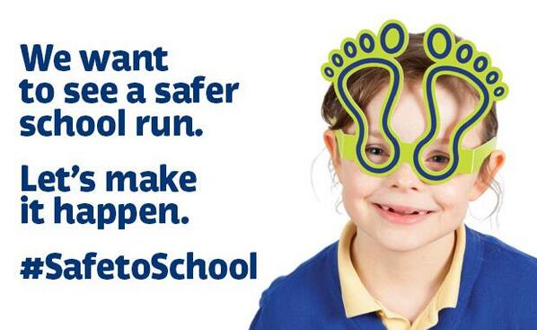 Today we launch #SafeToSchool.  Because every child has the right to a safe school run: http://t.co/0cRxW4OveI http://t.co/UOanzn4sCv