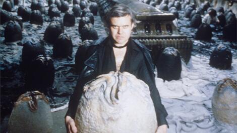 RIP, HR Giger... RT @totalfilm: Alien designer HR Giger has passed away aged 74: http://t.co/8jyAJ9vJLQ http://t.co/cDlxEDktjR