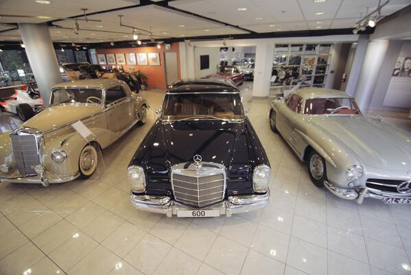 Inside the @MercedesBenz Classic Center USA with @GearPatrol . Find out more here: http://t.co/rolO3b0dBk http://t.co/LOTbMva8wp