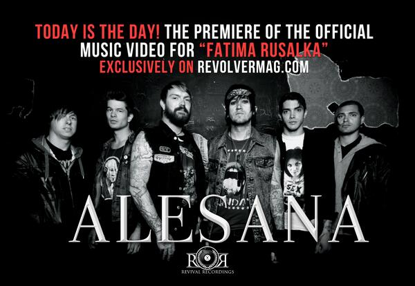 Head over to http://t.co/HX9QYbfqcl and check out our brand new music video for Fatima Rusalka!! http://t.co/kOkJZqjbmB