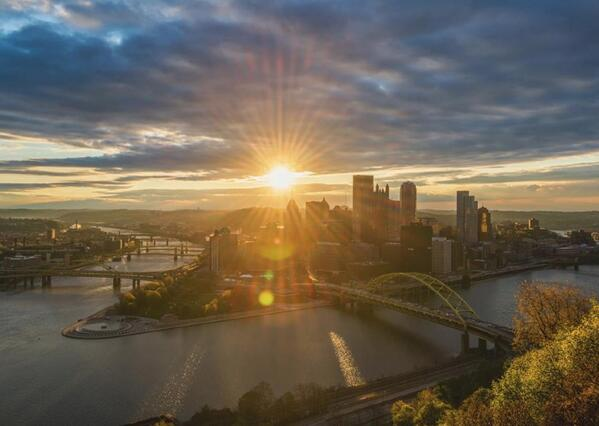 It's the steel... or the beer.RT @PittsburghMag: Pgh Ranked #5 Most Resilient City in World. http://t.co/i57X4LB0xj http://t.co/EK60DWZkYO