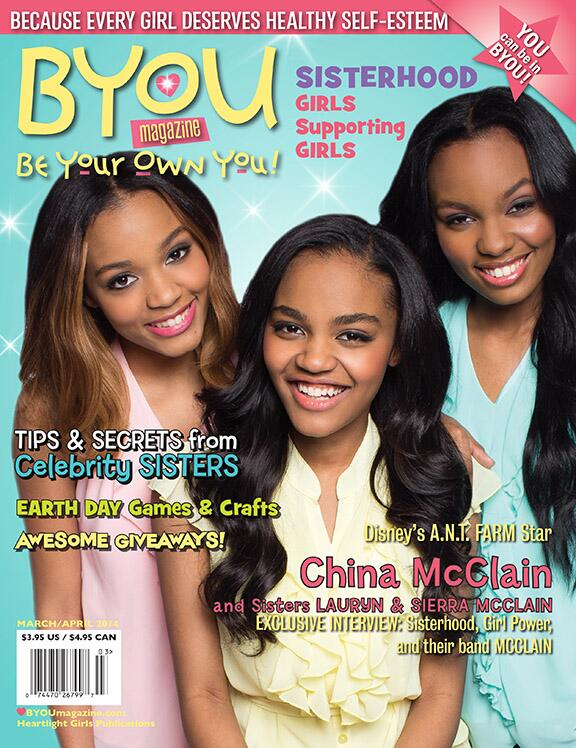 Thank you lovely @McClain sisters: @ChinaMcClain @LaurynMcClain @SierraMcClain for your support of @BYOUmagazine! xo http://t.co/3qSe0PNn1A
