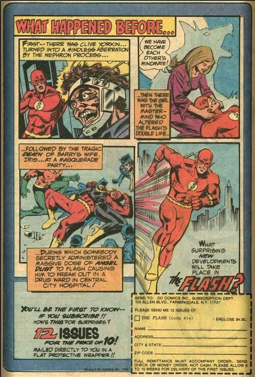 I have no doubt that these Flash issues will live up to the insanity they promise. #Flash #BarryAllen #Angeldust http://t.co/ekr5DWTxCV