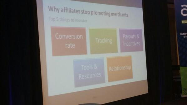 5 reasons why affiliates will leave your program #AMDays http://t.co/3ptG70dQ1x