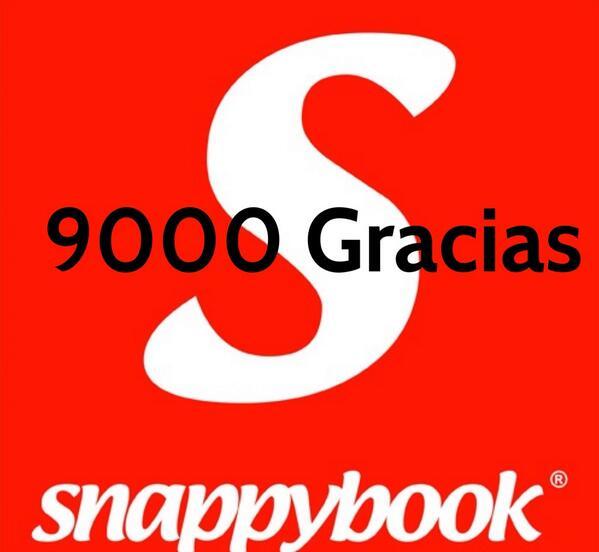 Ya hemos superado los 9000 seguidores!!! Muchas Gracias a todos!!! #LAHM130 #Snappybook #Fotografia #AlbumDigital http://t.co/E5wf5d7ByF