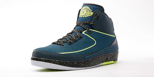 Modern colorway, classic look. The Air Jordan 2 'Nightshade' drops this Saturday. http://t.co/LRfi6LYeBR