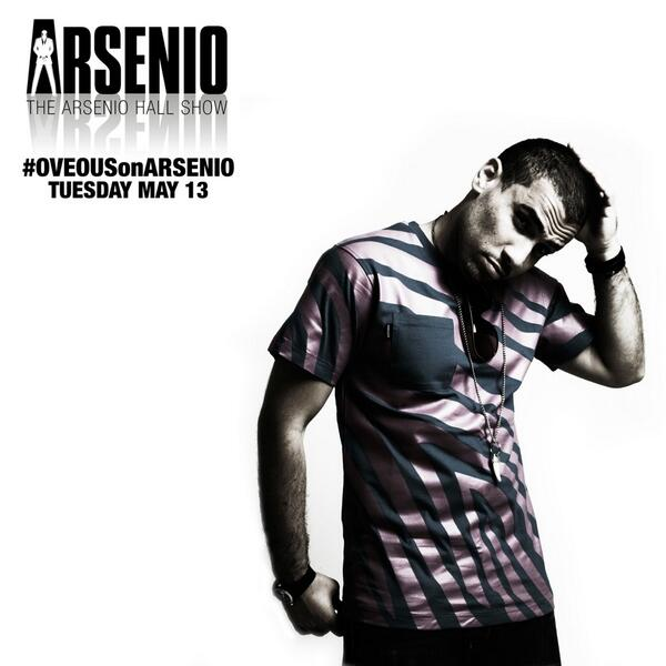 Tonight's the night! #OVEOUSonARSENIO *use the hashtag and show ur support. http://t.co/h0gYzF4uXe