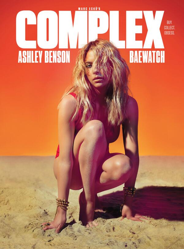 BAEwatch w/ @AshBenzo for @ComplexMag. Shot by @ZOEMCCONNELL w/ makeup by @StoryOfMaiLife #editorial http://t.co/kIjL8oiAch