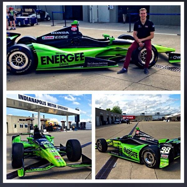 You won't have any problems spotting our new Integrity Energee Car on the track from now on. Here's a first look! http://t.co/HHnqgDzuaM