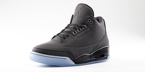 Inspired by the 5, expressed on the 3. Black on black 5LAB3 drops Saturday. http://t.co/C3UYrBUGff