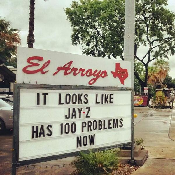 We love that @El_Arroyo knows how to #KeepAustinWeird RT @TexasEx10 Another fabulous El Arroyo sign: http://t.co/fQiZHMC7mO