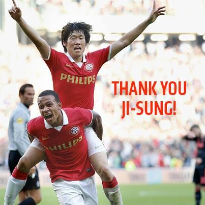 Thank you, Ji-Sung! 감사합니다! #psv #park http://t.co/snQC6KK0Ms
