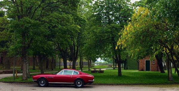 RT @BicesterH: #DBS #astonmartin Great to see this DBS nestling amongst the trees at #BicesterHeritage @AstonMartinWork http://t.co/PuwrIyGzrD