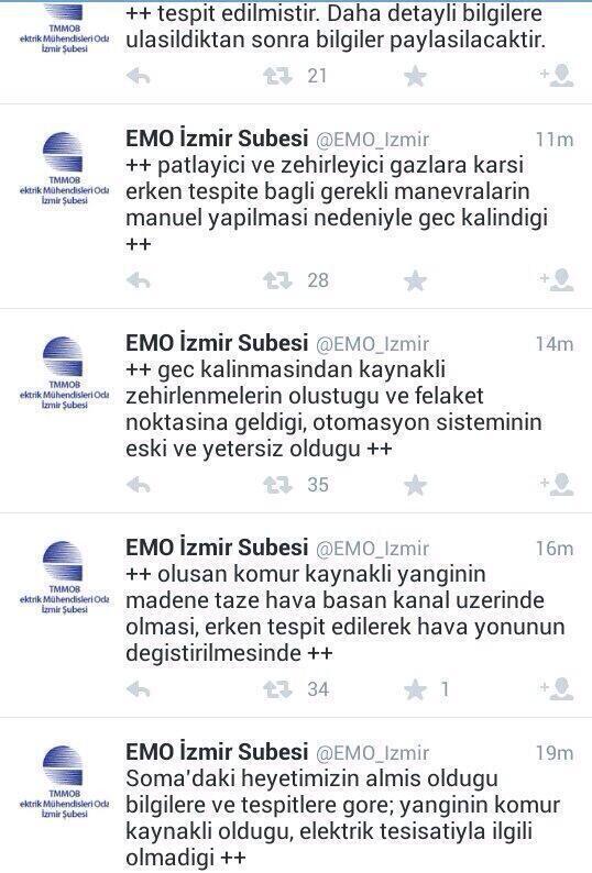 Elektrik Mühendisleri Odası İzmir'n açıklaması #Soma #kazadegilcinayet  #KaderDeğilİsCinayeti  #SomaİcinDUA http://t.co/jqOLo75x6F