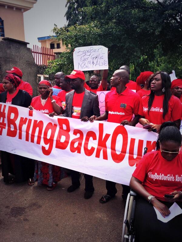 Someone at #BringBackOurGirls rally told me traditional media has failed #Nigeria - hence social media activism. http://t.co/z97wF9IMb5