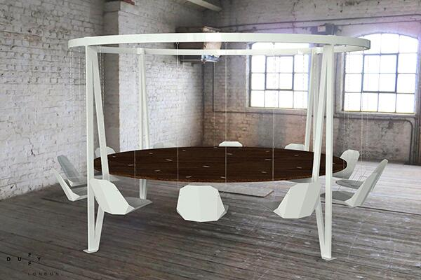 Modern Arthurian Table http://t.co/NWXJW7Pz1b
