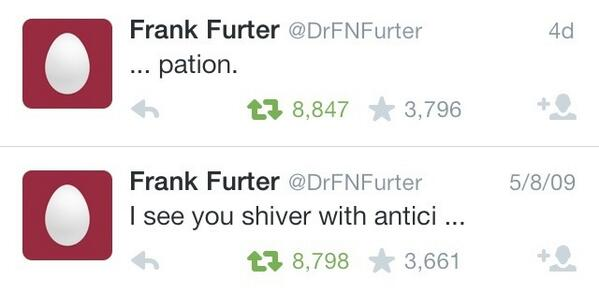 This guy waited five years to finish his tweet: http://t.co/fvoBrK52ZN
