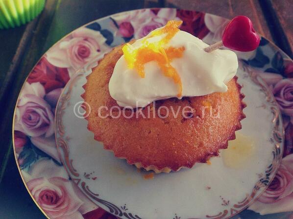 Кексы в силиконовых формах рецепты с апельсином