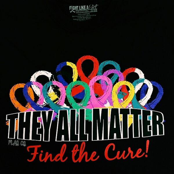 Our NEW #TheyAllMatter shirts are a HUGE hit! #FightLikeAGirl http://t.co/OvwX6FlIoh http://t.co/ery0Hv3wQs