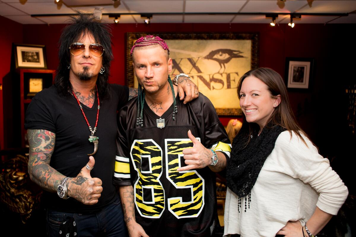 Today's Show: @NikkiSixx invites @JODYHiGHROLLER to the studio. And their dogs quickly become best buds! http://t.co/Plf6i4D2kJ