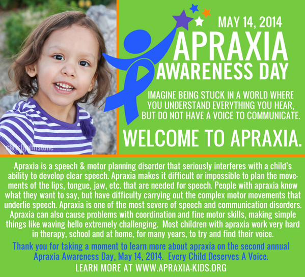 Sharing some #ApraxiaAwareness on Apraxia Awareness Day @Apraxia_KIDS @pvschools @CougarCommunity #apraxia http://t.co/G5mOoyQDWm