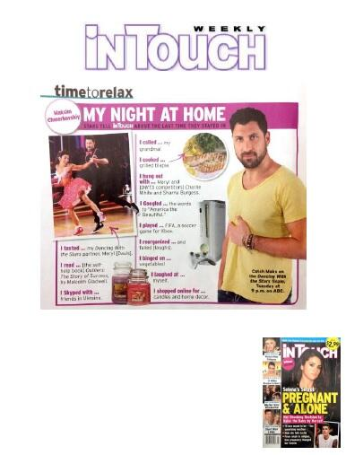 "Check out @MaksimC's ""My night at home..."" feature in @intouchweekly! #TimeToRelax #MeTime #DWTS #DWTS18 #TeamMnM http://t.co/U9b1Kq6PMV"