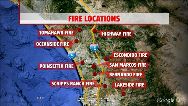 Latest MAP of #FireStorm2014 http://t.co/coCuJW1ZjP