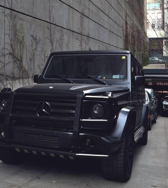 Rt if you want this all black g class 39 for All black mercedes benz g wagon