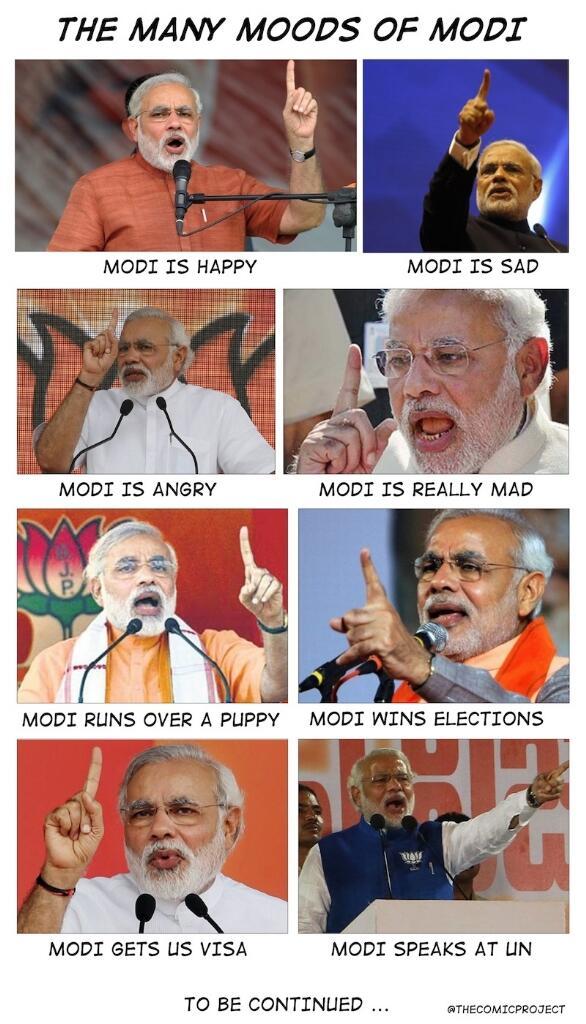 The many moods of Modi http://t.co/FvEYKuagaM