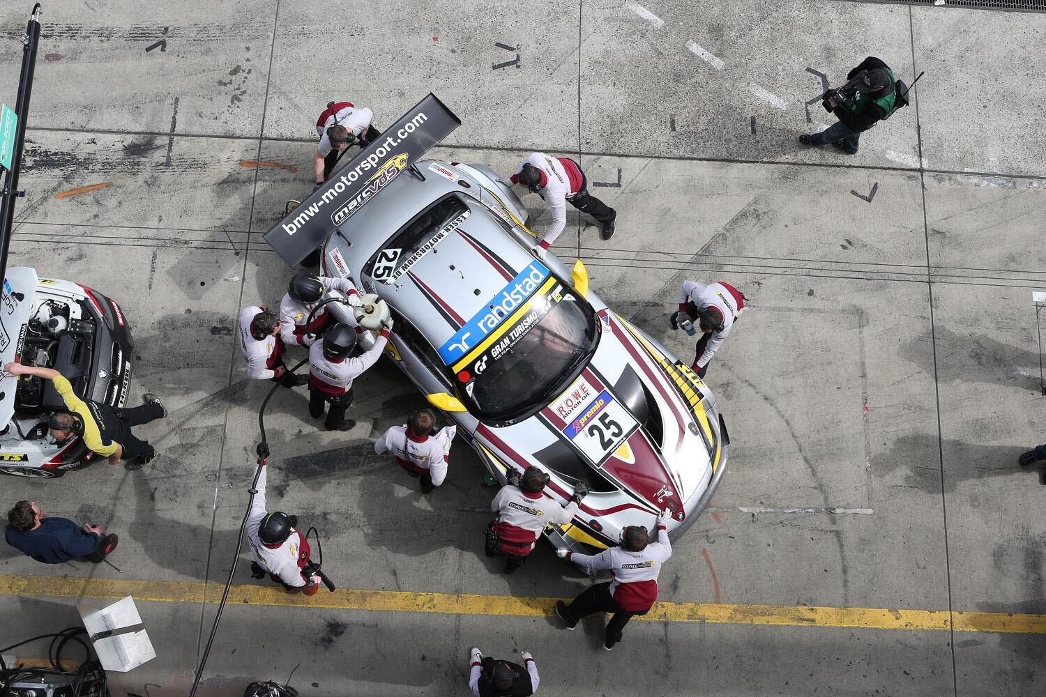 It's the team! The #BMW Sports Trophy Team Marc VDS with the BMW #Z4 #GT3 at the #Nürburgring. http://t.co/2XuMpPIjnm