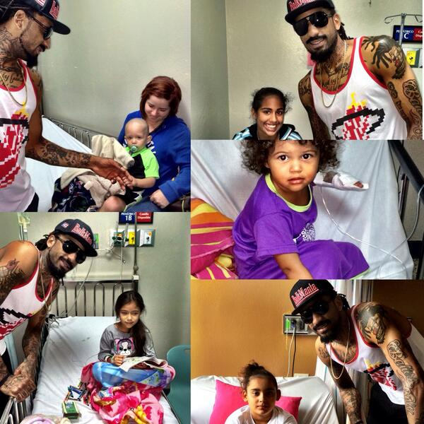 """Heart is still touched from spending time with all of you at the Children's Hospital. #Arecibo #BalkmanCares #PR"""" http://t.co/ws2TNSHcPt"""