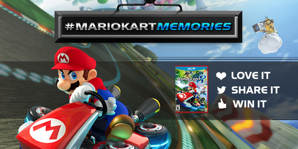 GameStop (@GameStop): What are your best #MarioKartMemories? Share for a chance to win epic prizes! Details: http://t.co/6JuCUPX1TX #MK8 http://t.co/da4CafCWRs