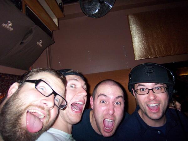 #TBT OG Dirtybird Crew at Shine, San Francisco circa 2007: @mrJUSTINMARTIN @SFdirtybird @vonstroke @dirtybird_sf http://t.co/rreh8jxLs7