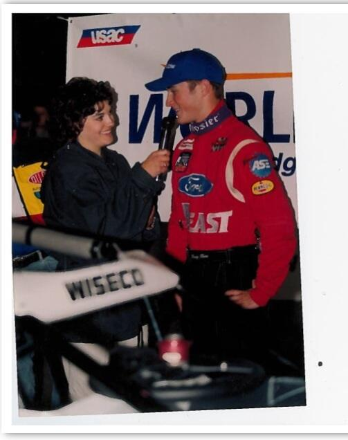 #tbt @kaseykahne at the Night Before the 500 in 2001 http://t.co/eEVaeNOU85