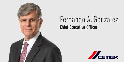 Fernando A. Gonzalez has been named Chief Executive Officer of #CEMEX http://t.co/YeCl6kHzl6