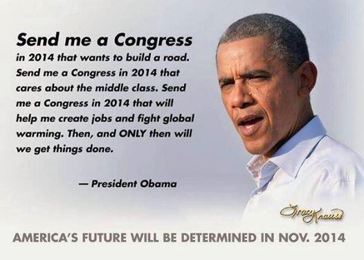 Retweet if you want to see what President Obama can do with a Democratic Congress. http://t.co/sf04DsHogY #FireBoehner #UniteBlue