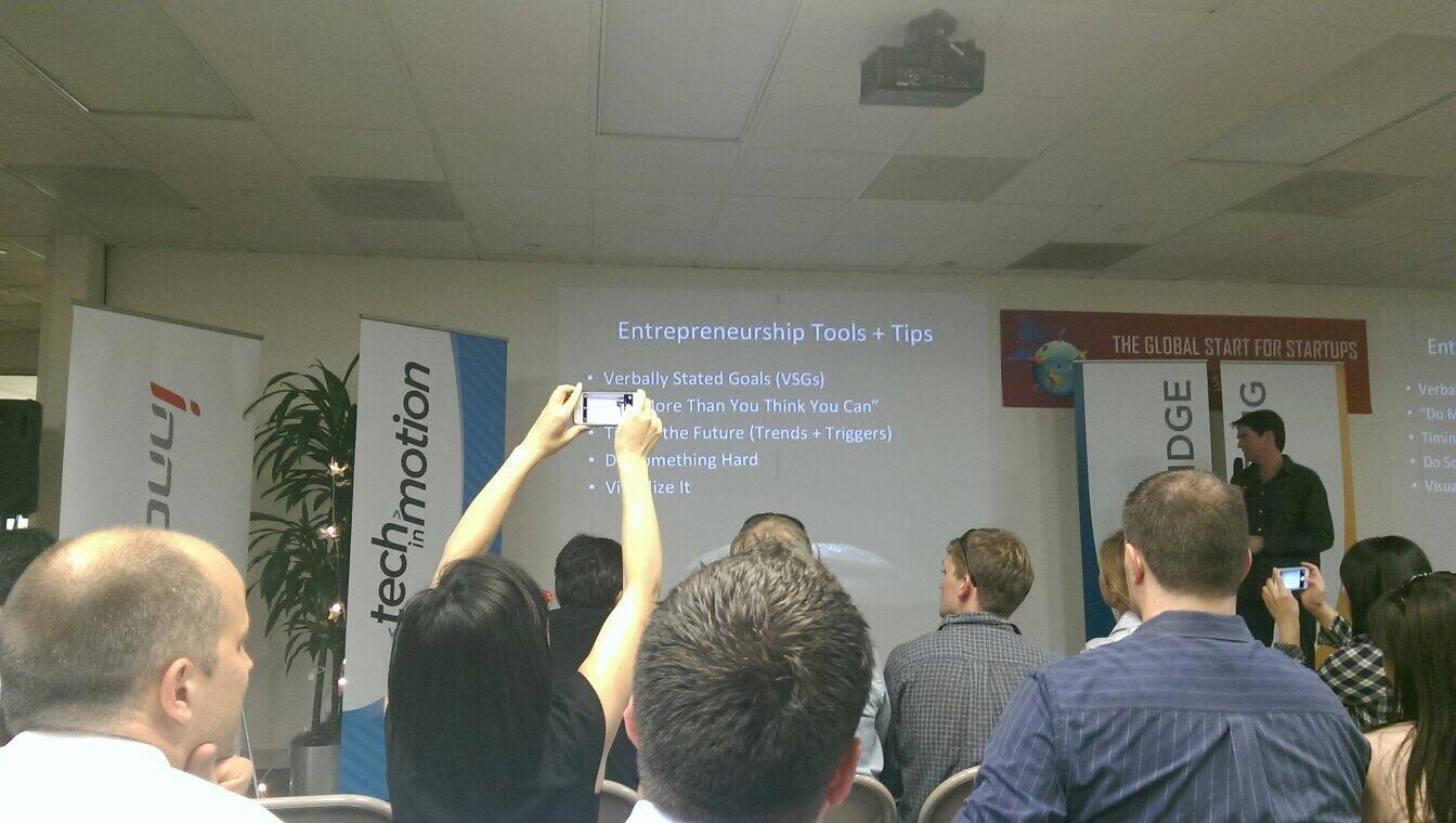 RT @piggybox: Founder of Siri sharing his story and ideas. Best meetup ever @Tech_in_Motion http://t.co/odZaJdxUFP
