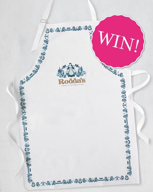 Celebrate #WorldBakingDay in style - Simply follow us & RT to #WIN 1 of 5 Rodda's aprons! http://t.co/QggO4hHhAk http://t.co/OIFMVvoQcB