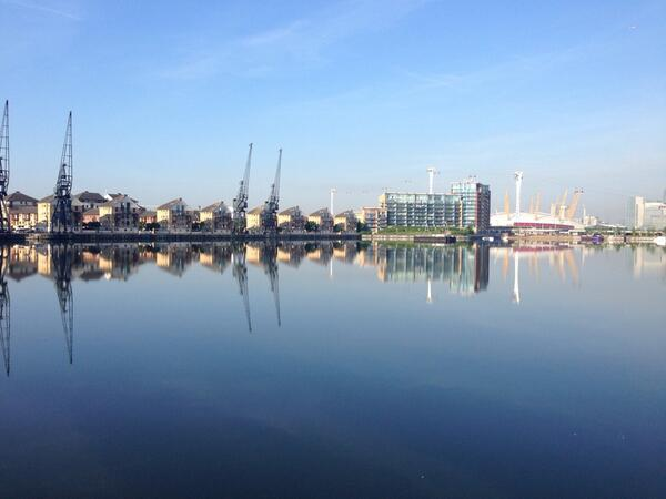 Another beautiful morning coming into #TBS2014 at @excellondon today! Who's joining us? http://t.co/UNHetvsae3