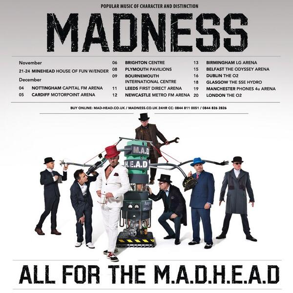 Our UK tour is now on general sale here: http://t.co/bzuUMATn1b #Madhead http://t.co/A5GO4ofu18