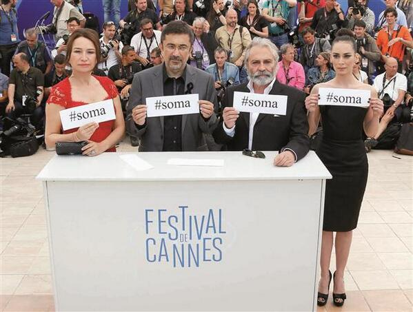 #Turkish film events at #Cannes fest canceled due to #Soma disaster  http://t.co/XJrnFCyFvE http://t.co/3UzpFwKPZq