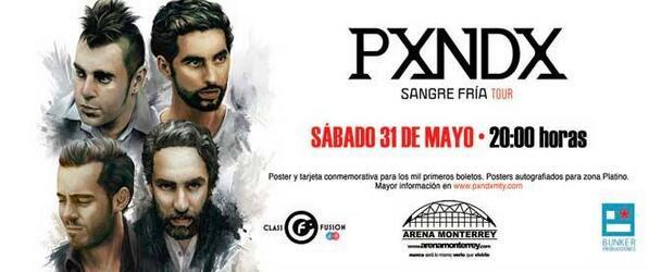 Este 31 de mayo estará @pxndxmusic en @ArenaMtyOficial ¿vas a ir? | Boletos en http://t.co/QHakp5aRrz http://t.co/YfsImDdMGw