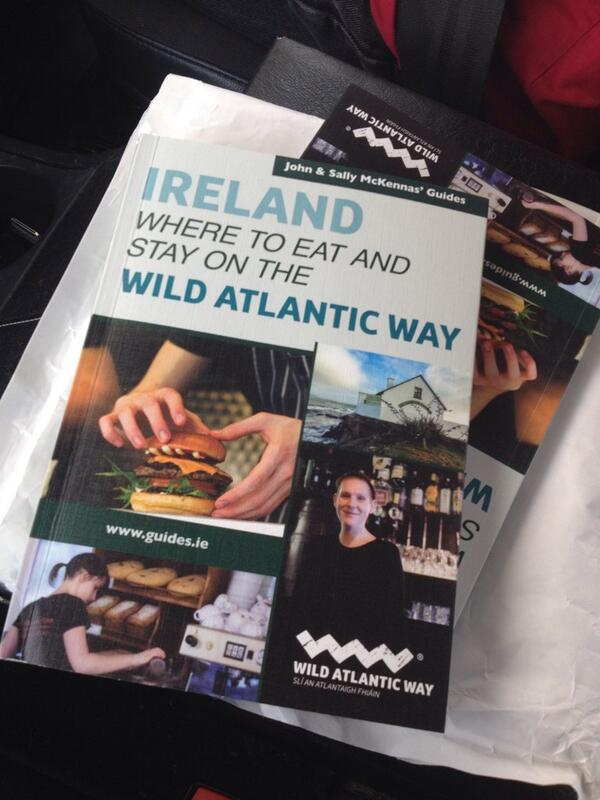 Yay! It's now real! Where to Eat and Stay on the Wild Atlantic Way. Hitting bookstores next week. http://t.co/kUCUVtLF3P