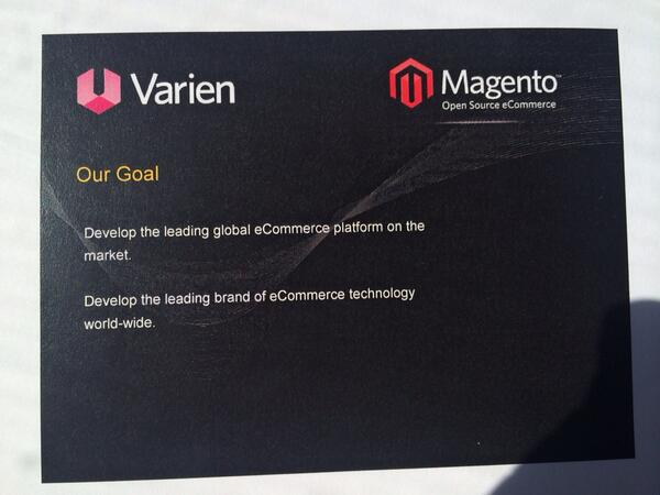A slide from the Magento investment deck in 2008. Done. http://t.co/eSZ6T7VaGq