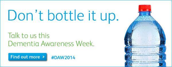 Welcome to Dementia Awareness Week 2014! http://t.co/RN1kzBXoSS #DAW2014 http://t.co/Cb01Ko6Dgx