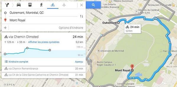 #GoogleMaps ajoute les dénivelés aux itinéraires à vélo http://t.co/9AA2SFTxnX http://t.co/ifWW8301dv