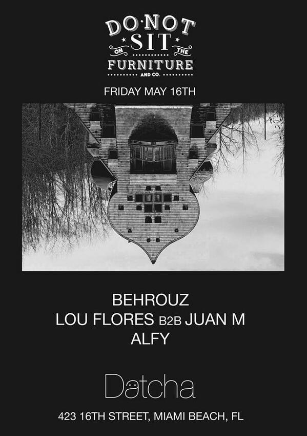 @DJBEHROUZ: Tonight joining forces with our #Datcha family to bring you a special night! @HouseMusicMiami http://t.co/Mg76oRkbjZ