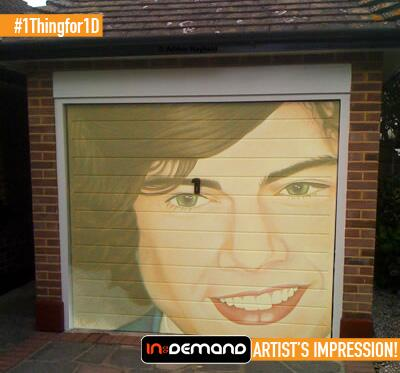 #1Thingfor1D FINALIST 4 - Victoria - I would paint Harry's face large onto my dad's garage door! http://t.co/MqMCONSMdq