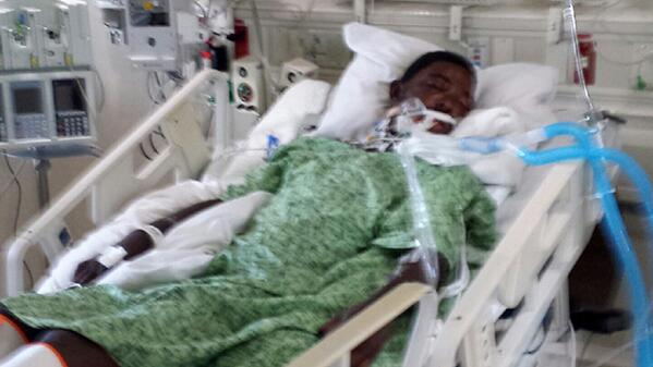 TAVARES' DOCHER CONDITION WORSENS WITH SWELLING ON BRAIN FOUND. PLEASE RT AND CONTINUE TO PRAY.. #PoliceBrutality #RT http://t.co/ITx59J6b1O
