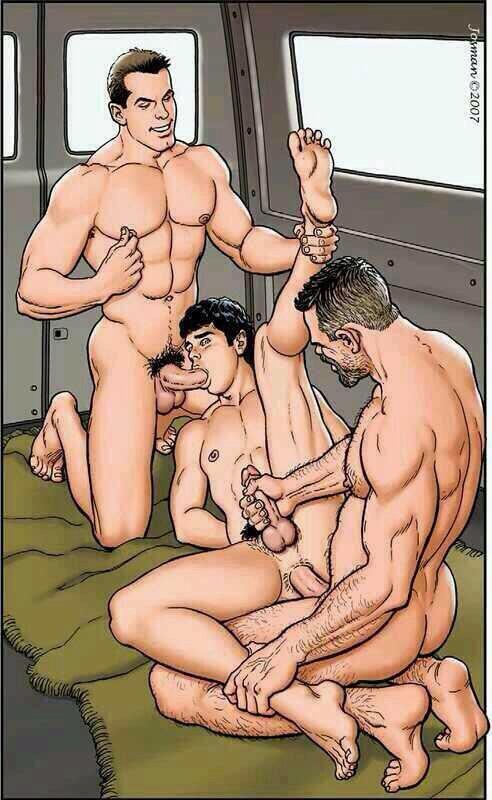 секс геи аниме комиксы